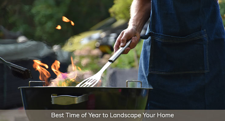 Best Time of the Year to Landscape Your Home